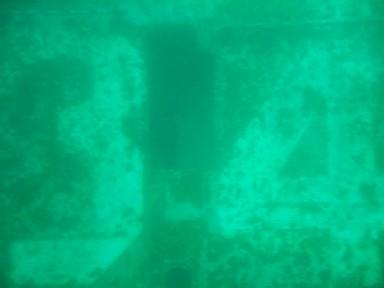 Oriskany's Number - 34. Note size of door between the digits